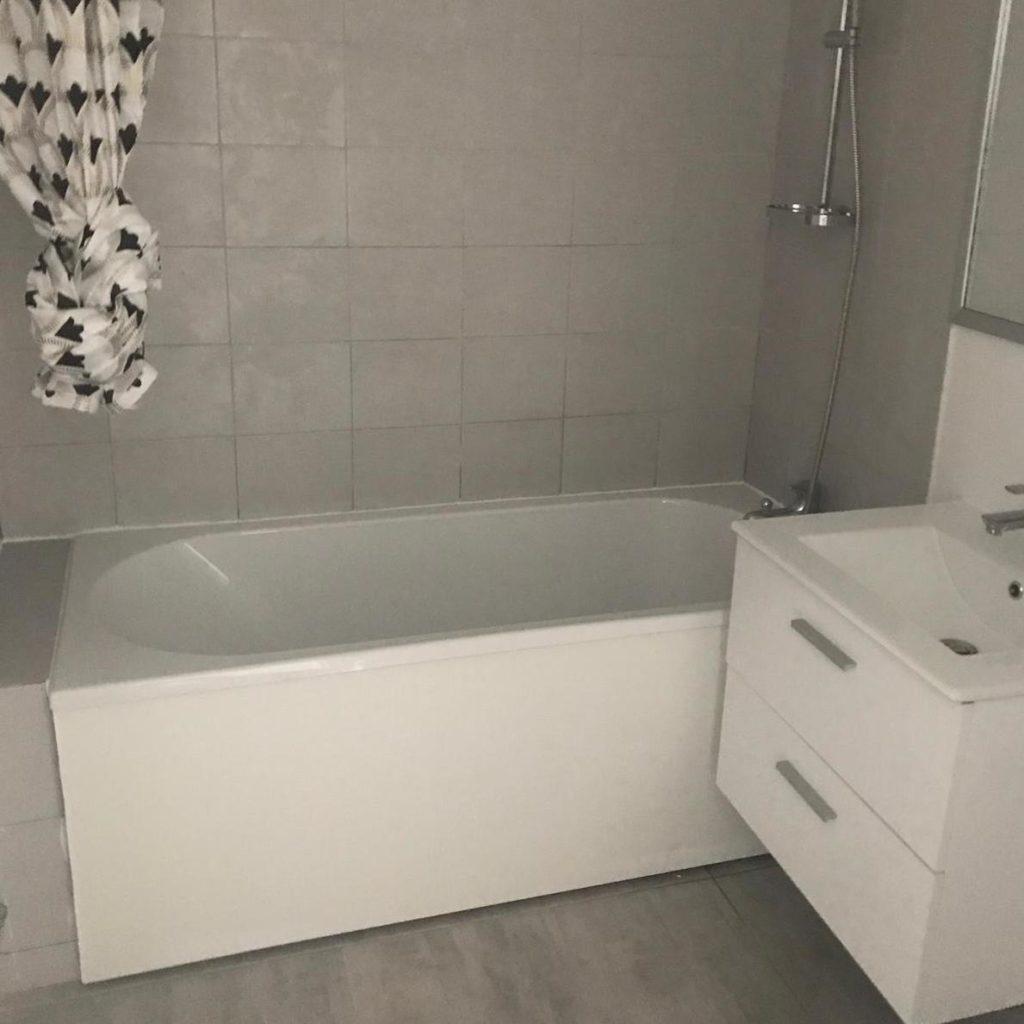 Rénovation salle de bain à Paris 19e